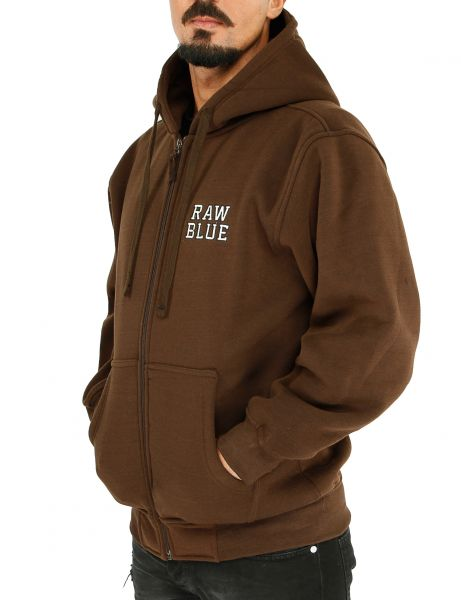 Raw Blue Basic Hoody EF-3200 Brown