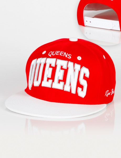 RB Queens Snapback Red