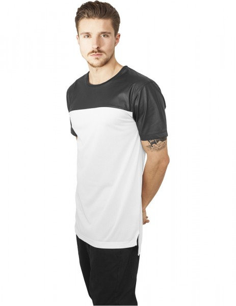 Football Mesh Long Jersey TB980 wht/blk White