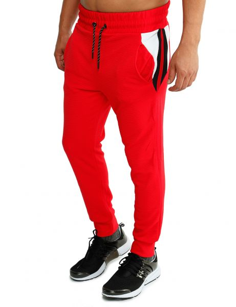 Cabin Sweatpants 1148 Red White