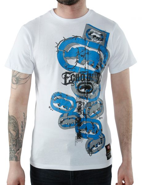 Ecko Raging Fall T-Shirt E7N03544 Optic White