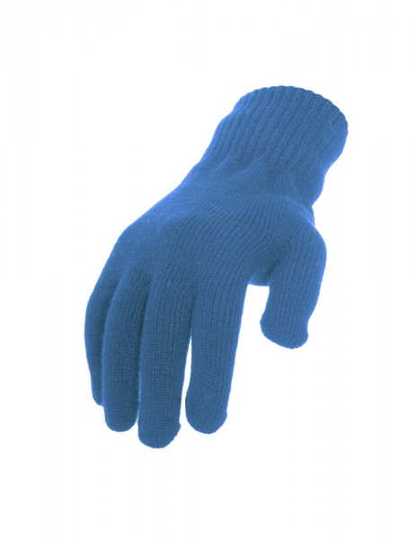 Knitted Gloves Turquoise