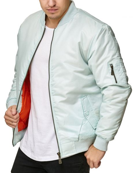 Soul Star MJ-MA1 Bomber Jacket Mint Green