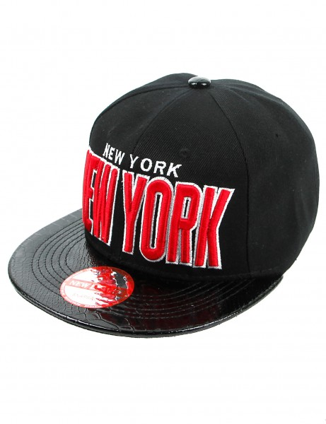 New League NEW YORK Snapback Black Black