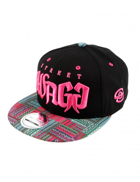 State Property Herren Caps Street Swagg_Black/Pink/Pink Kappe Mütze Basecap