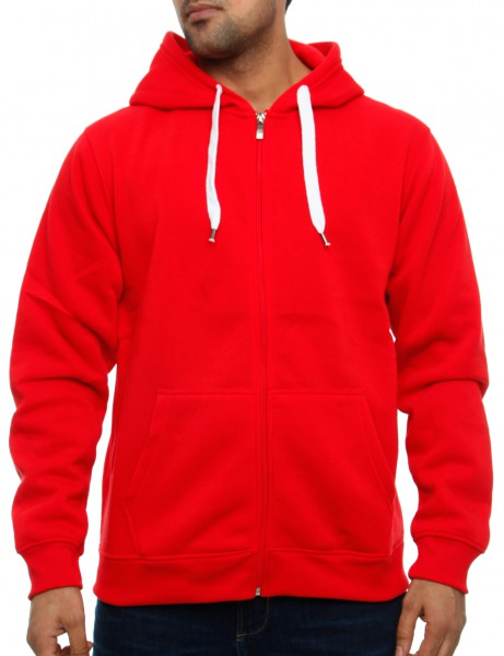 Southpole Zip Hoody 9001-1501S Red
