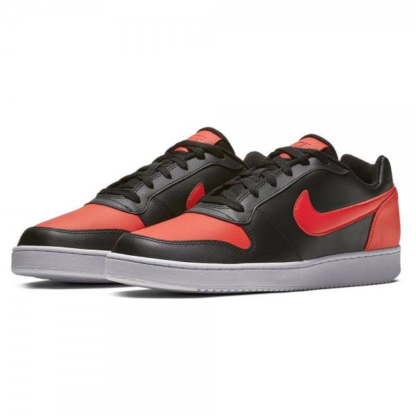 Nike Ebernon Low Mens Sneaker AQ1775-004 black red