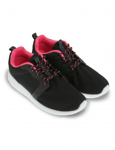 Cultz Shoes 140901-007W-A Black Fuchsia Pink