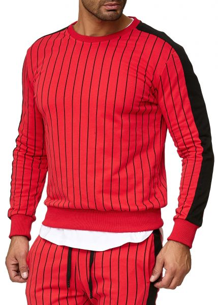 Redox Mens Crewneck A11-14C Red Red