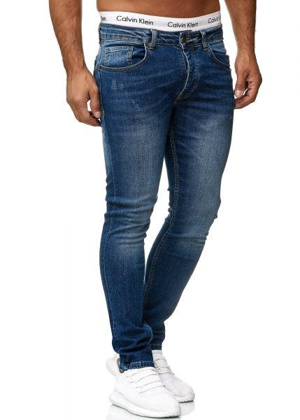 Redox Mens Jeans 600JS_602 Classic Blue Used
