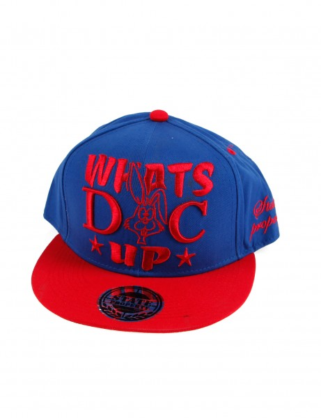 State Property Herren Caps Whats Up Doc_Royal/Red Kappe Mütze Basecap Cappy