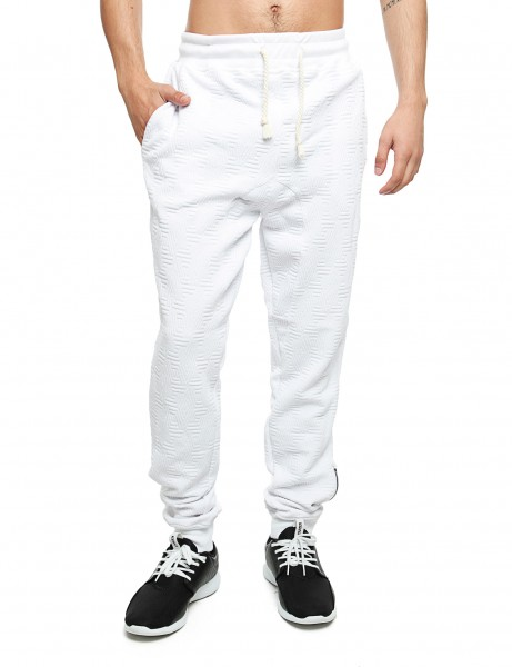 Imperious Quilted Sweatpant FP542 White