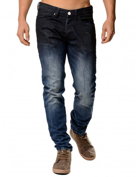 Free Side Alpha Jeans Dark Blue