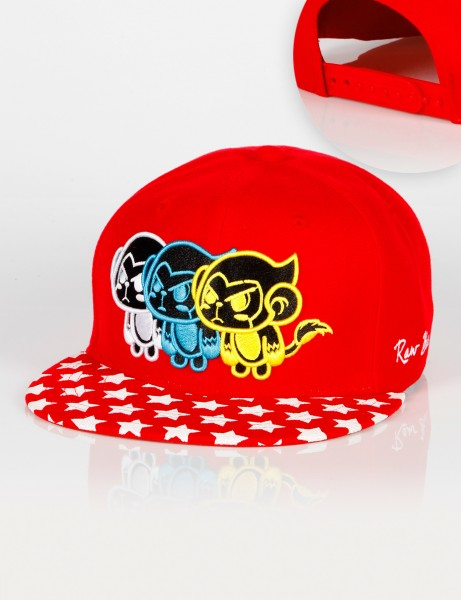 Tripple Songgong Snapback Red