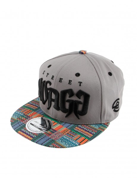 State Property Herren Caps Street Swagg_Grey/Green/Black Kappe Mütze Basecap