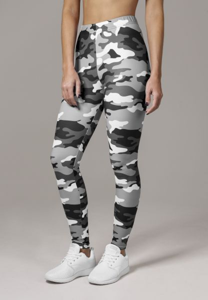 Urban Ladies Ladies Camo Leggings TB1331-00787 Camo