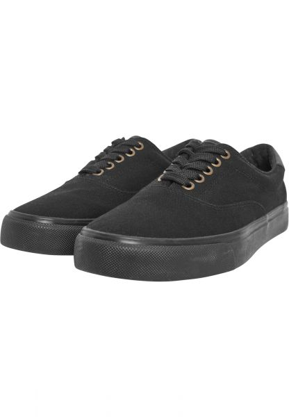 Urban Classics Low Sneaker With Laces TB2124-00017 Black