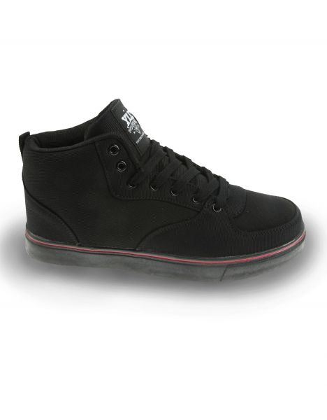 YLD YD-400 Classic Sneaker Black/Red