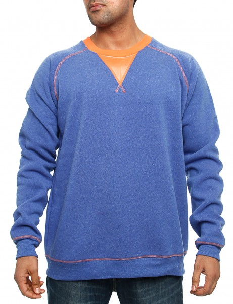 Royal Blue Crewneck 44012 Ink Blue