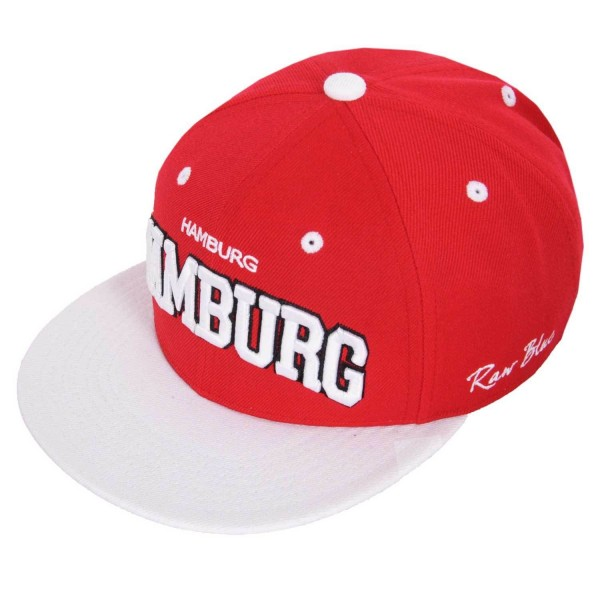 RB Hamburg Snapback Red