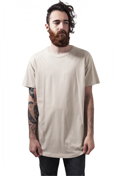 Urban Classics Shaped Long Tee TB638 Beige
