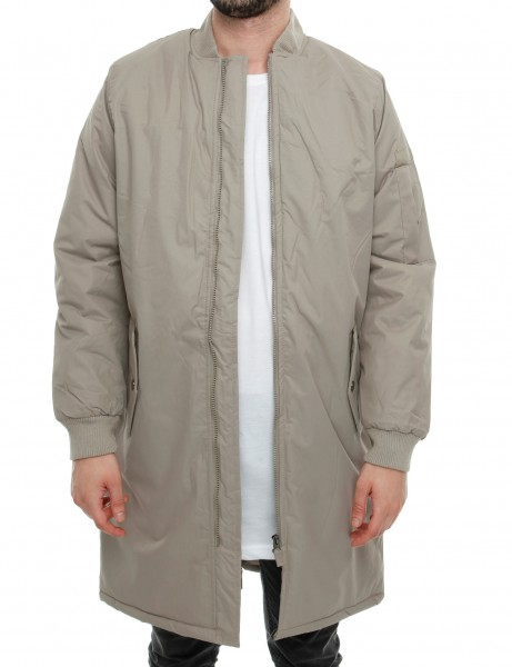 Soul Star MJ SPACEY Jacket Taupe Grey